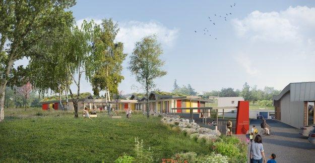 HIATUS architectes - Ecole à St Jean Bonnefonds